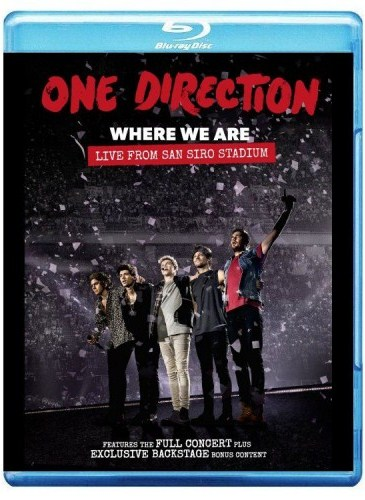 One Direction Where We Are (Blu-ray)